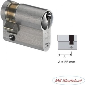 MK23 CILINDER 0 - 55MM
